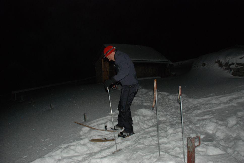 Old school skiing 3
