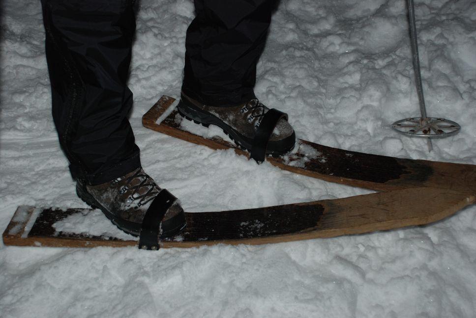Old school skiing 1