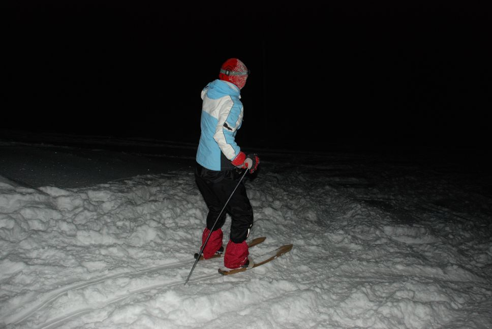 Old school skiing 5