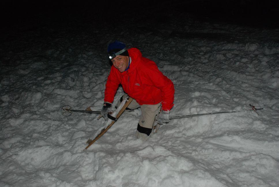 Old school skiing 4