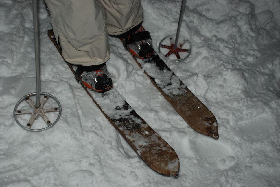 Old school skiing 2