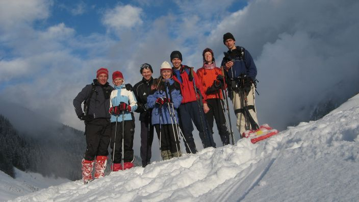 Zipflbob expedition team