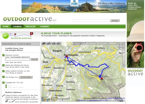 outdooractive Outdoor Routing