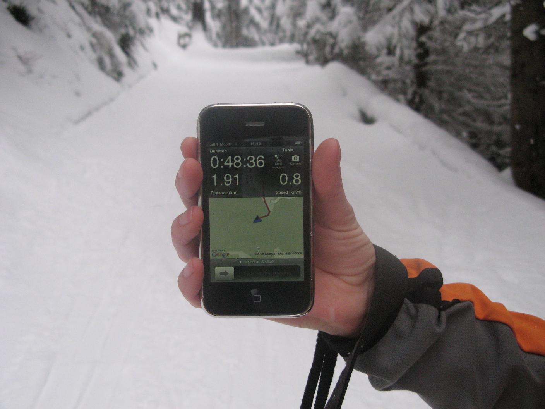 iPhone Trails